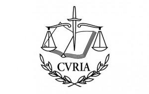 Logo tribunal de justicia de la union europea