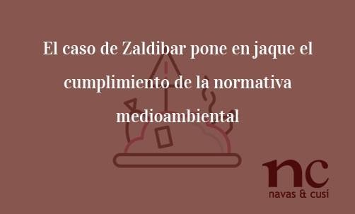 El caso de Zaldibar pone en jaque el cumplimiento de la normativa medioambiental