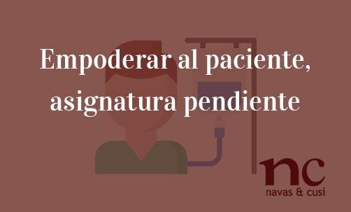 Empoderar-al-paciente,-asignatura-pendiente-Juan-Ignacio-Navas-Abogado-especialista-en-Derecho-de-la-Unión-Europea